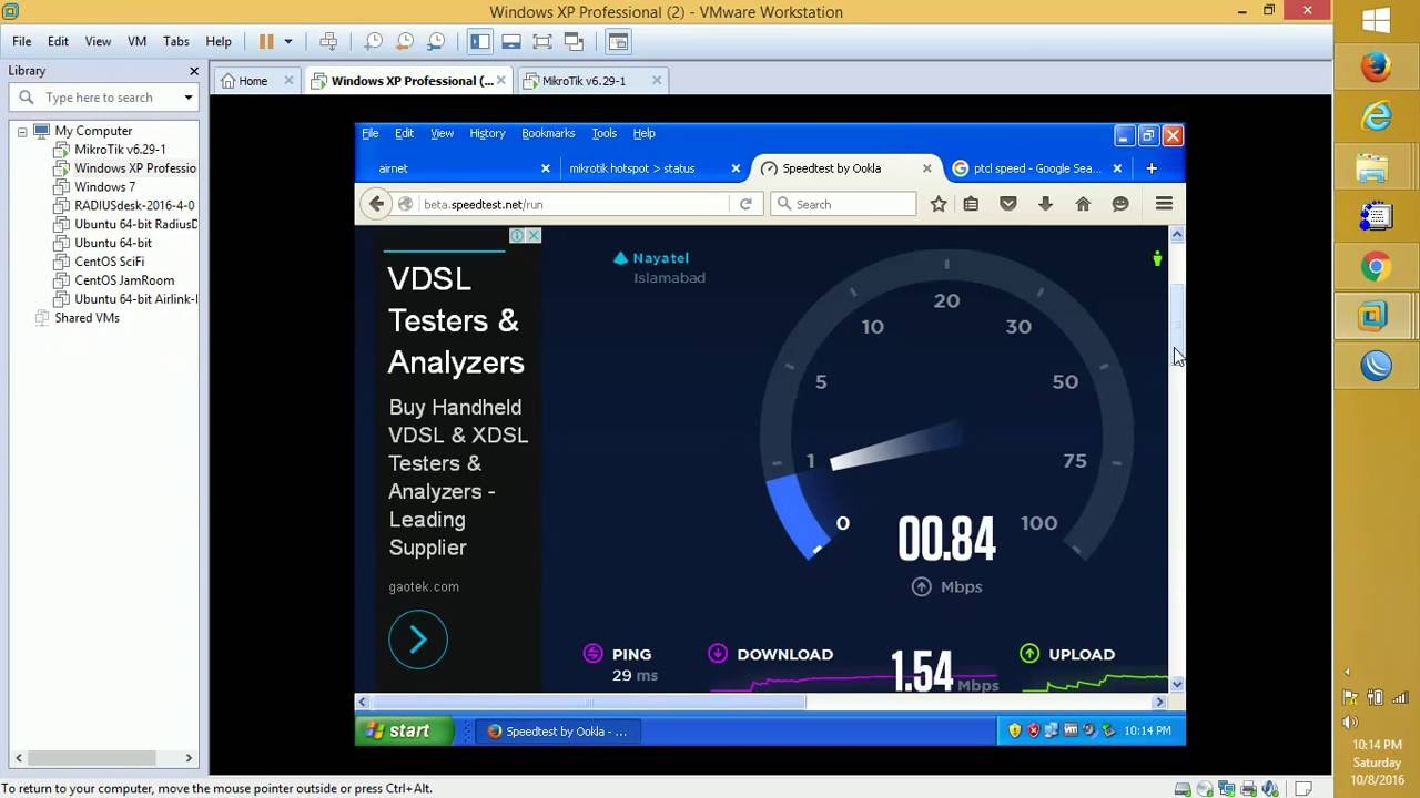 MikroTik hotspot profile rate limit or speed limit and bandwidth queta  packages setting config #3