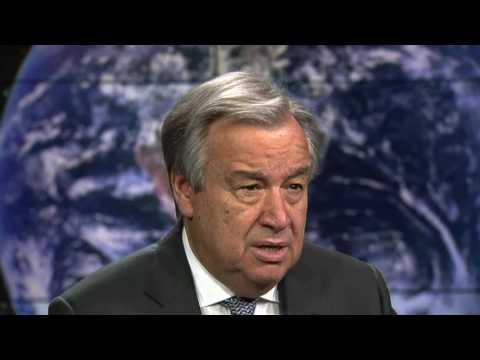 UN Secretary-General Antonio Guterres' message for Earth Hour 2017