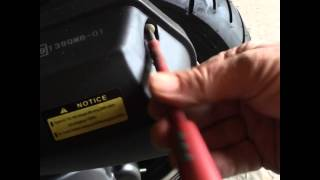 Guide: Removing air filter 50cc