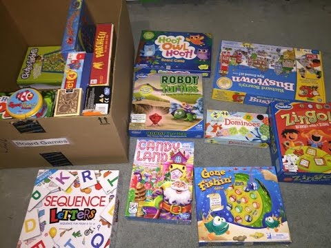 Best Board Games For Toddlers Young Children Youtube
