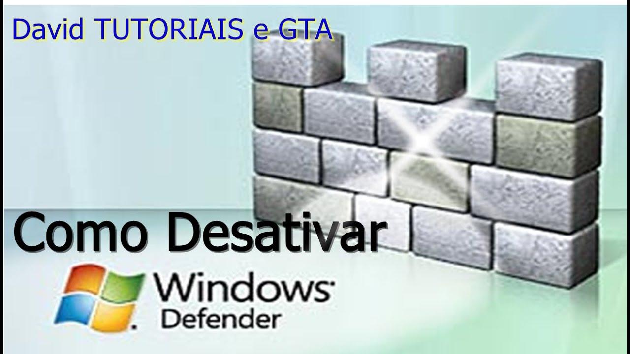desativar antivirus windows 10