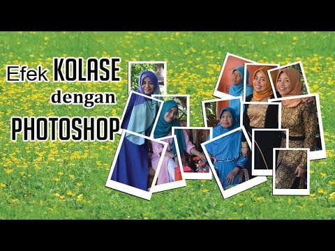 Cara Membuat Foto Kolase Dengan Photoshop Youtube
