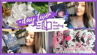 THE READING RUSH VLOGS! day two