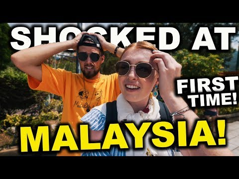 British Couples First Time in MALAYSIA, This is SO DIFFERENT!