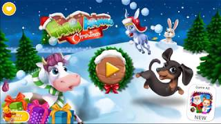 Farm Animals Christmas - Santa close - Funny - Kids Game - Children