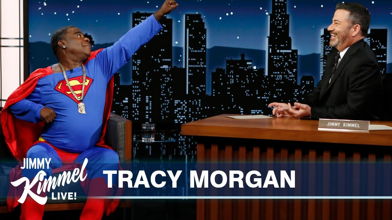 Download Tracy Morgan's Campaign to Be the First Black Superman
