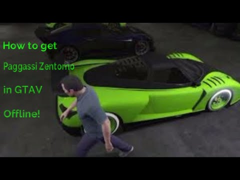 How to get a Pegassi Zentorno In GTA V Offline