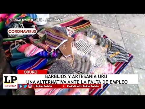 Barbijos y artesanía Uru una alternativ...