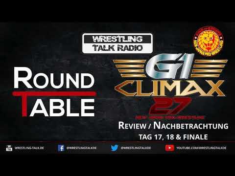 [WTR #685] WTR Roundtable: NJPW G1 Climax 2017 Finale Review