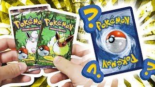 Opening 2x HEAVY Jungle 1ST EDITION Pokemon Pack !!!
