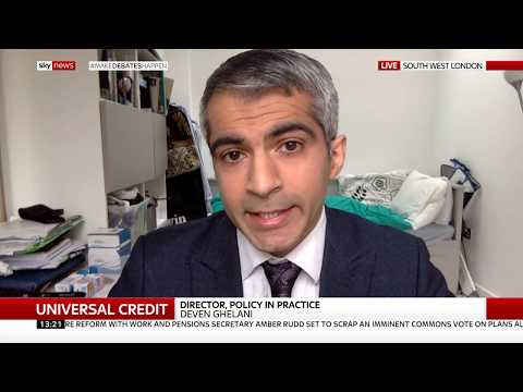 [Sky News] Universal Credit Managed Migration