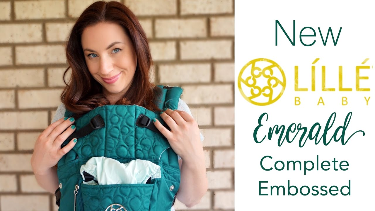 071311e1bed NEW Lillebaby Emerald Embossed Complete LUXE BEST Baby Carrier  Review    Unboxing!