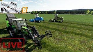 """???? [LIVE] Farming Simulator 19 - """"Pierwszy pokos na PGR"""" - Na żywo"""