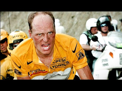 Bjarne Riis MUTANT CLIMBING PERFORMANCE : Hautacam Tour De France 1996