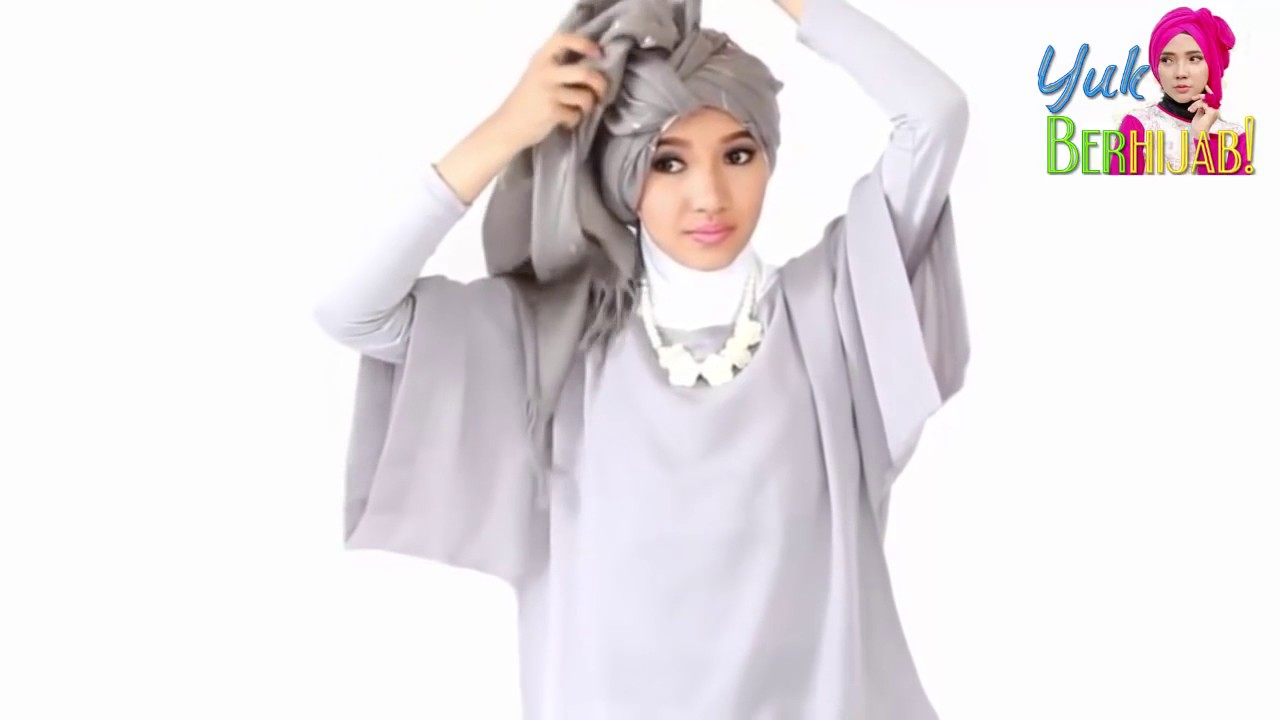 Tutorial Hijab Tebaru Pashmina Simple Untuk Pesta Pernikahan YouTube