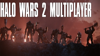 Halo Wars 2 Multiplayer 2vs2 - Banished and UNSC Team Up