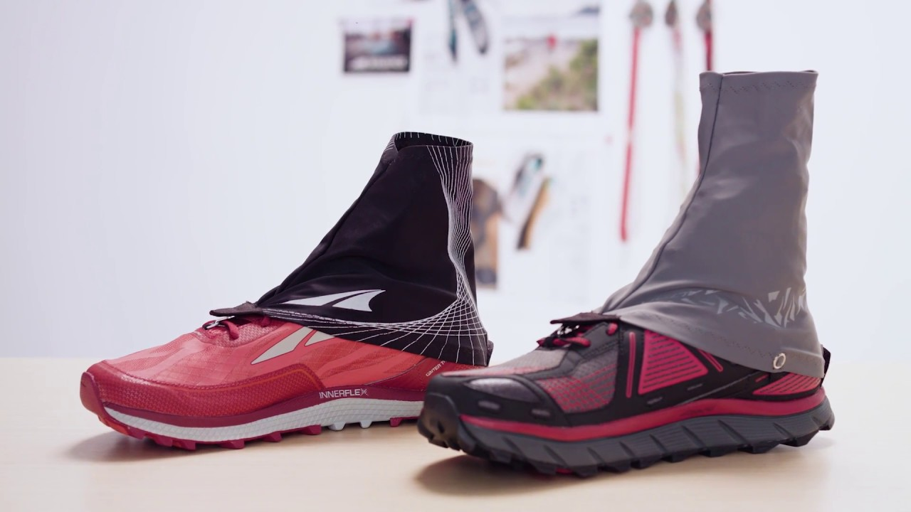 Altra Trail And 4-Point Gaiter - YouTube