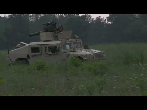 XCTC 2017:  Mounted and Infantry Combat