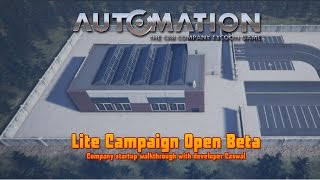 Automation   Lite Campaign Mode tour with Caswal