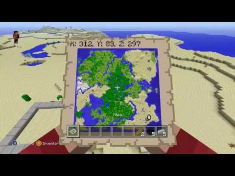 Minecraft: Xbox 360 / PS3 - Semilla / Seed - TU16 All Biomes - SEMILLA DE UN SUB. #4