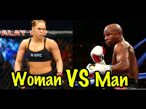 Best Female Boxer & Kickboxer vs. Male Fighter | Lawrence Kenshin