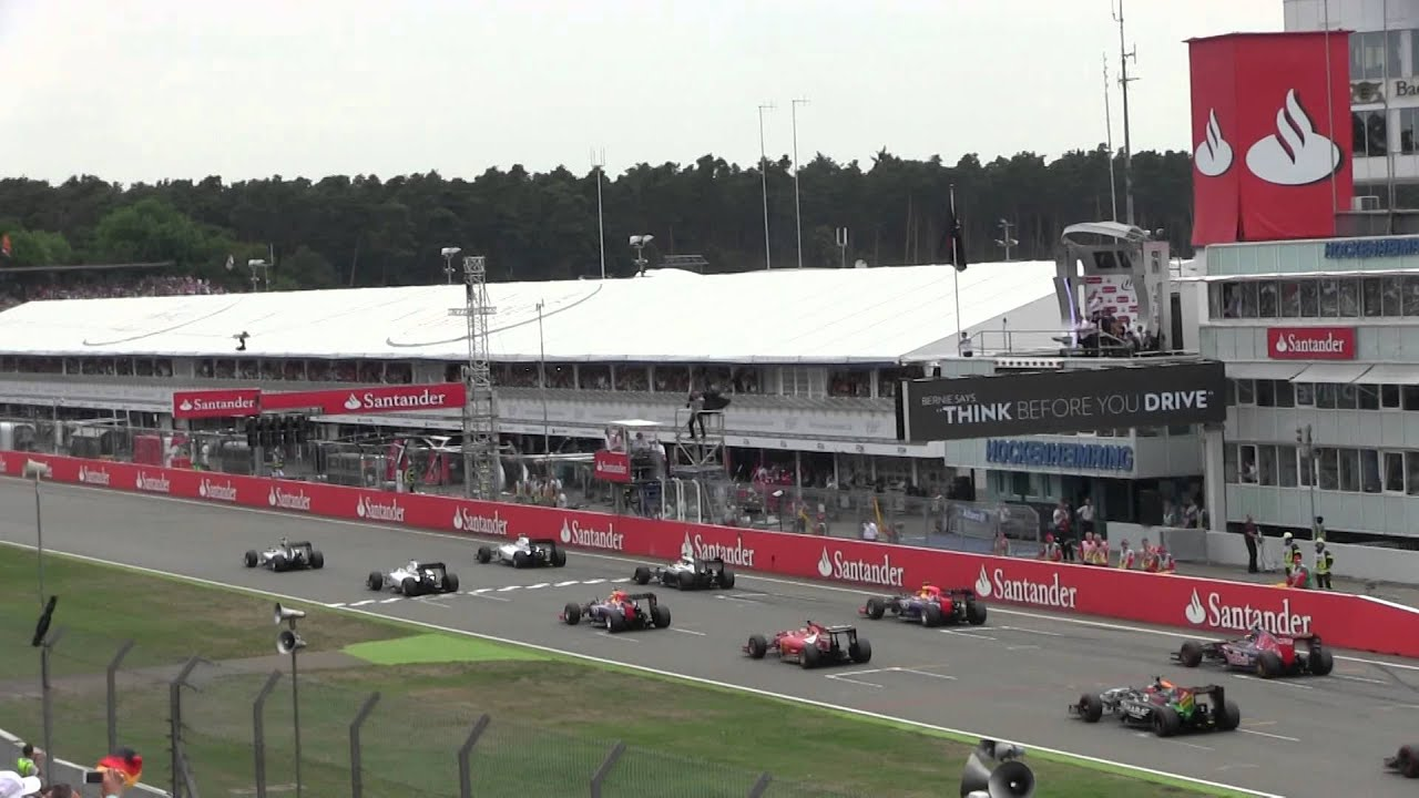 formel 1 hockenheimring 2014 start mit crash youtube. Black Bedroom Furniture Sets. Home Design Ideas