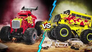 LiteHawk WHEELERS Monster Trucks | All-New Remote Control Toy Collection from Litehawk!