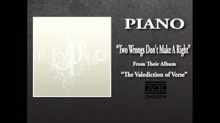 "piano ""Two Wrongs Don"