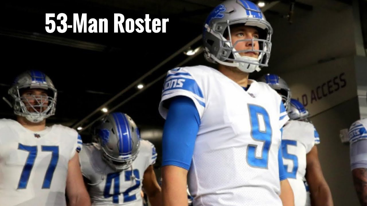sports shoes c83df 3a238 Detroit Lions 53-Man Roster & Update | J.D McKissic Added | Surprising Adds  & Cuts