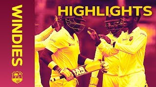 Sri Lanka Close In On Windies Lead - Windies v Sri Lanka 2nd Test Day 3 2018 | Highlights