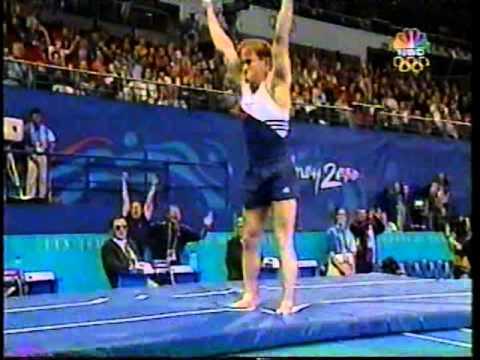 Paul Hamm - 2000 Olympics Prelims - Vault