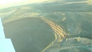 Aerial of Finsch Diamond Mine