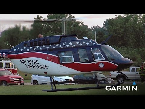 Saving Time—and Saving Lives—with Garmin Avionics for Helicopters