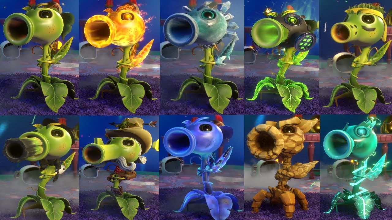 peashooter plants vs zombies garden warfare 2