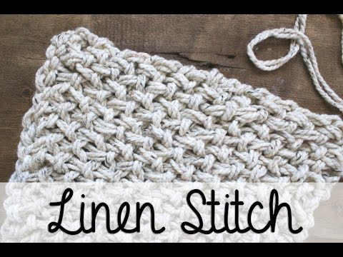How to Arm Knit the Linen Stitch with Simply Maggie