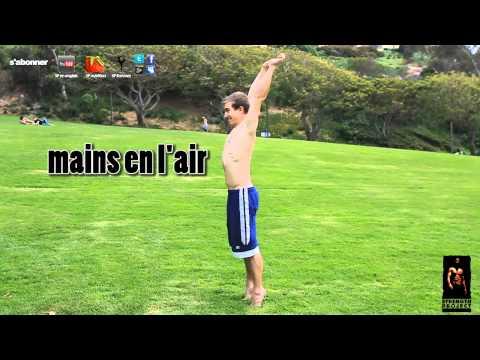 Tutorial salto arrière sur place backflip tutoriel francais- gymnastique breakdance