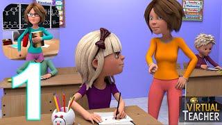 Virtual High School Teacher 3D Gameplay Walkthrough Part 1 (IOS/Android) screenshot 3