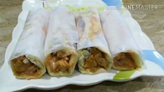 Chicken sawarma recipe Easy cooking with as