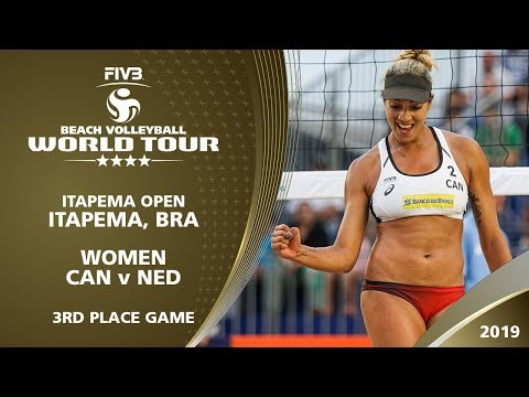 Women's Bronze Medal: CAN vs NED | 4* Itapema (BRA) - 2019 FIVB Beach Volleyball World Tour