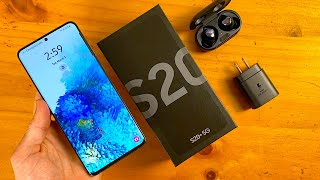 Samsung Galaxy S20+ (Cosmic Gray) Unboxing & First Impressions!