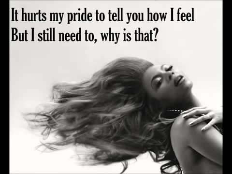 Beyonce - I miss you (lyrics)