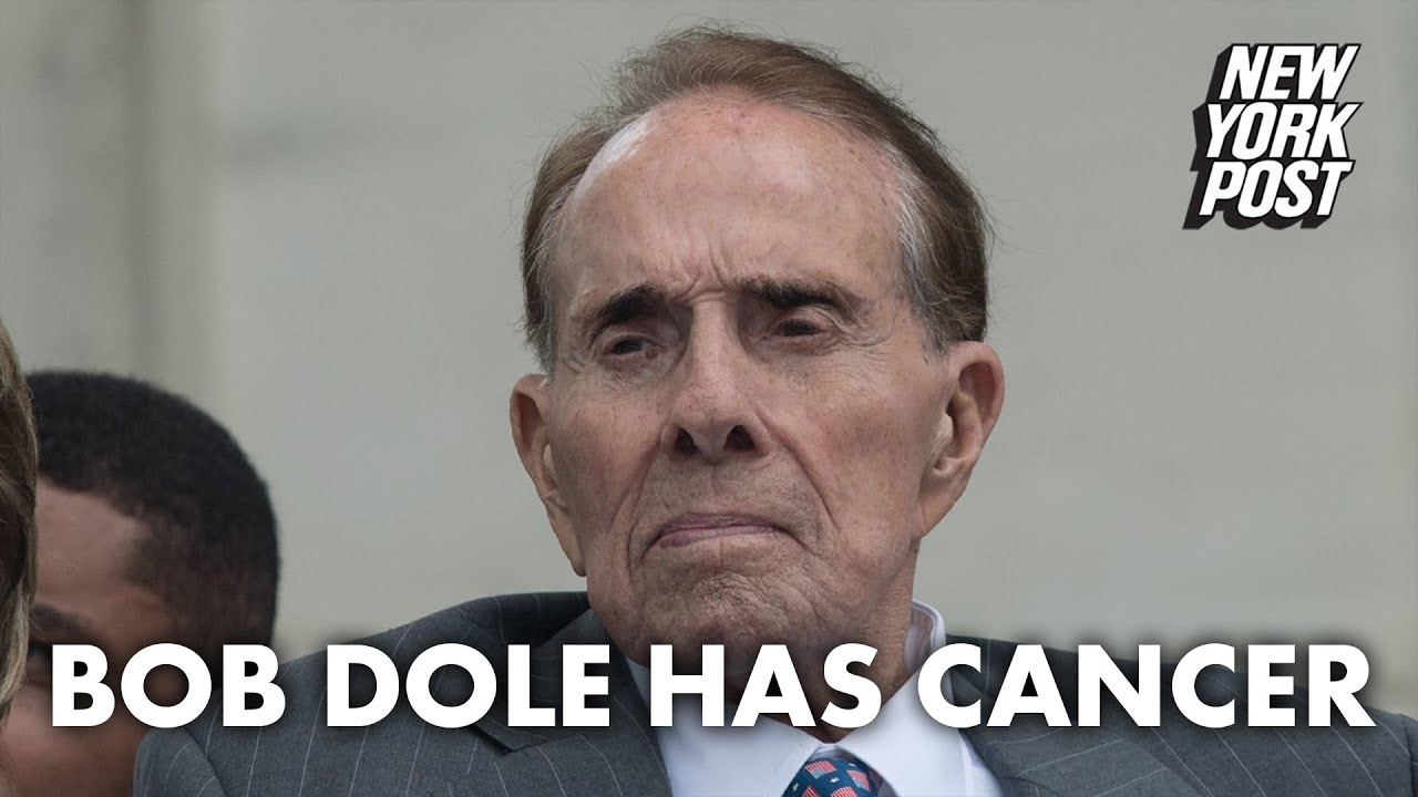 Former GOP presidential nominee Bob Dole reveals he has stage 4 ...