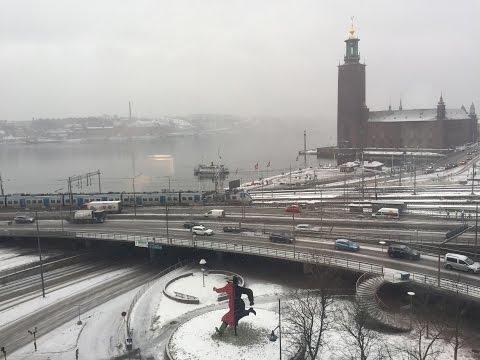 Stockholm in Winter 2017
