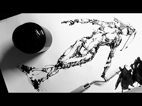 Как нарисовать человека - Графика, рисование  и скетчинг. Эдуард Кичигин