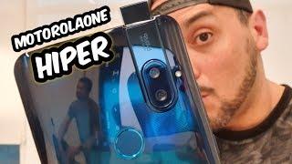 Motorola One Hyper 64 MP de CÂMERA POP UP! Unboxing e Primeiras Impressões PT-BR