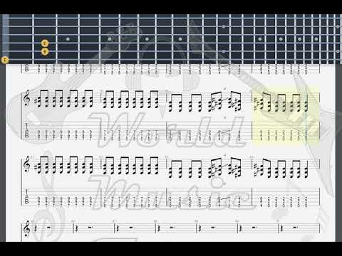 HIM Wicked Game GUITAR 2 TAB - YouTube