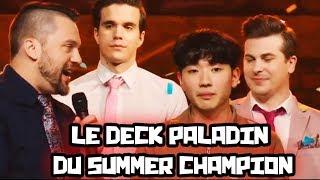 Le deck paladin de Surrender, le summer champion !
