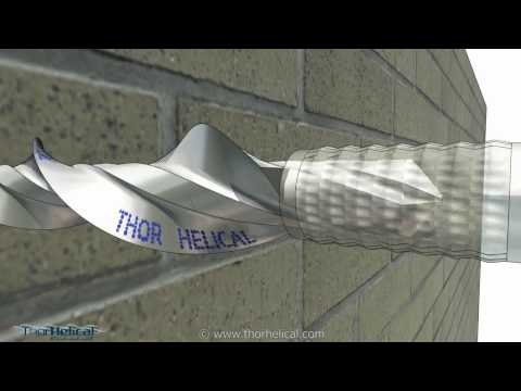 Wall Ties -Thor Remedial  Wall Ties- Advanced Wall Tying System