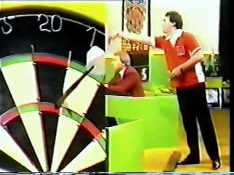John Lowe V Malcolm Davies England V Wales 1986 Home Internationals