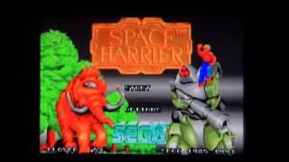 Space Harrier On The SEGA 32X
